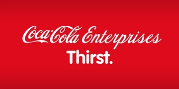 Logo for Coca-Cola Enterprises